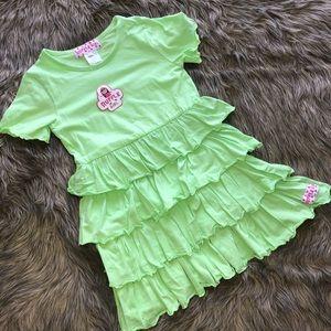 NWT Ruffle Girl Dress | Girls size 7